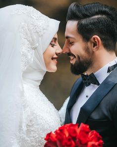 Image may contain: 2 people, wedding Muslim Couple Photography, Wedding Photography Poses, Wedding Poses, Wedding Photoshoot, Wedding Couples, Muslim Wedding Dresses, Wedding Hijab, Cute Muslim Couples, Cute Couples