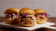 Slow-Cooker Buffalo Chicken Sliders Are So Much Better Than Wings  - Delish.com