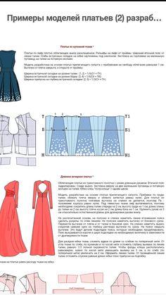 Drafting pattern for longdress