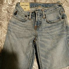 Abercrombie jeans Boys size 10 Abercrombie jeans wore one time look like new son outgrew them. Abercrombie & Fitch Jeans