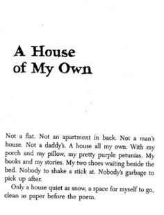 Sandra Cisneros / The House on Mango Street