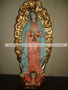 Nossa Senhora de Guadalupe 80 cm