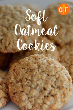 oatmeal cookies easy \ oatmeal cookies _ oatmeal cookies easy _ oatmeal cookies healthy _ oatmeal cookies chewy _ oatmeal cookies recipes _ oatmeal cookies chocolate chip _ oatmeal cookies easy 2 ingredients _ oatmeal cookies with quick oats Soft Oatmeal Cookies, Oatmeal Cookie Recipes, Oatmeal Chocolate Chip Cookies, Cookies Soft, Homemade Oatmeal Cookies, Coconut Cookies, Easy Cookie Recipes, Recipes With Quick Oats, Quick Oat Cookies