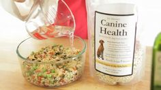 Homemade Dog Food In Less Than 1 Minute. Feed real food to your companion animals. #NoMoreKibble
