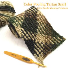 I always love tartan scarf but too lazy to do all the color changing while knitting or corcheting. However, when the planned color pooling tartan scarf became a phenomenon in the crochet world late…