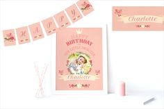 In honour of the arrival of Princess Charlotte we have launched our new 'Our Little Princess' birthday party theme. Personalise it now for your own little princess's birthday!