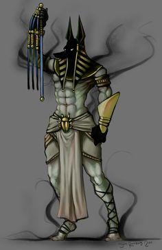 Anubis by sReinking on DeviantArt