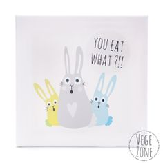 Perfect decoration for a vegan home! Picture painted on a canvas with a wooden frame. http://vegezone.pl/42-z-drewna