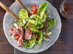 hot Thai salad with marinated Steak ≈