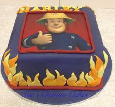 Fireman Sam Cake pic 2