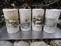 ILDArt / sviečky - svietniky Pillar Candles, Candles