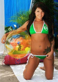 Green Lantern Bikini