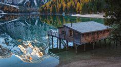 Reflection of Lake Braies, Italy | Yuri Shevchenko
