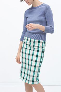 What To Buy ASAP From Your Favorite Stores This Spring #refinery29 http://www.refinery29.com/new-spring-fashion-arrivals#slide-25 Zara Dorothy was onto something; gingham couldn't be any cooler than right this very moment.