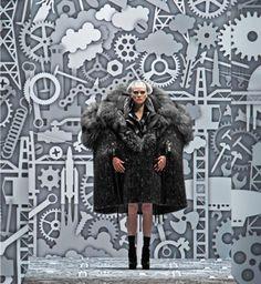 Studio Job  Viktor & Rolf Fashionshow Decor printed by Exposize