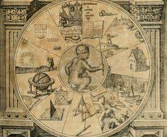 Mattheus Merian. Robert Fludd's Utriusque Cosmi Maioris Scilicet et Minoris Metaphysica. 1617 / Sacred Geometry <3