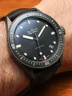 BaselWorld 2013: The Blancpain Fifty Fathoms Bathyscaphe Watch Hands-On