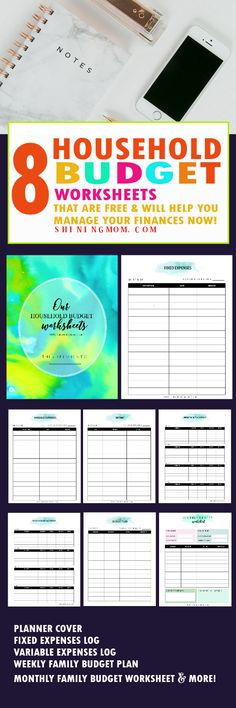 Monthly Expenses Spreadsheet Example PDF Template , Budget ...