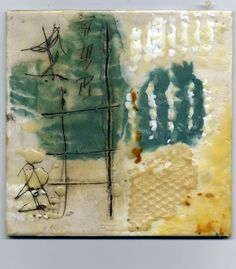 Original Encaustic painting called  The Wabi sabi by eridenour