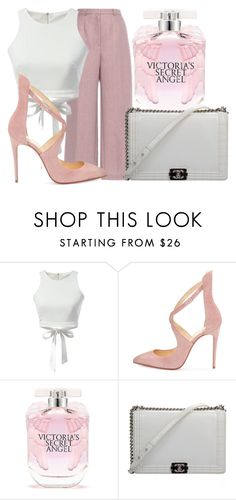 """""""We're alright though"""" by lucieednie ❤ liked on Polyvore featuring Vilshenko, Christian Louboutin, Victoria's Secret and Chanel"""