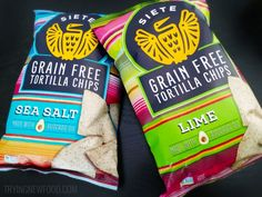 Siete Grain-Free Tortilla Chips: Sea Salt & Lime