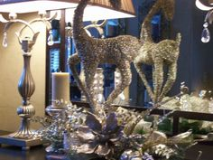 Christmas Entry by Redesign Your Decor www.rydecor.com