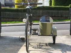 DIY Bicycle Sidecar ~ Cool! - Check this out Suzanne!!!!
