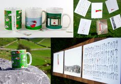 Irish gifts - mugs, calendars, fridge magnets - by Olyart on sale at the Dublin Visitor Centre