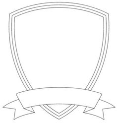 Blank Family Crest Template  ClipartsCo  Church Camp Ideas