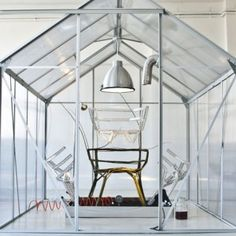 The Chair farm (a chair growing within a greenhouse) by Werner Aisslinger at Instant Stories, Ventura Lambrate design district, Milano (da DeZeen, foto Nicolo Lanfranchi) Magazine Design, Werner Aisslinger, Architecture Design, Best Interior, Interior Design, Beautiful Space, Studio, Contemporary Furniture, Molde