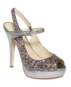 Mutil colored glitter shoes!