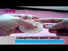 """Derya Baykal - Deryanın Dünyası - """"Örgü sepet yapımı"""" - 12.11.2014 - YouTube"""