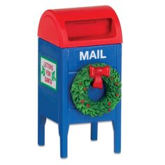 Department 56 Village Post Box *** Find out more details by clicking the image : Christmas Decorations
