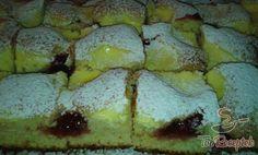 Túrós-lekváros foltos süti