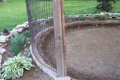 How to make a garden gazebo from an old corncrib Building the cornzebo base