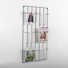 Magazinehouder om aan de muur te hangen, Niouz La Redoute Interieurs