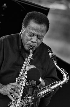 Wayne Shorter / born August 25, 1933 - American jazz saxophonist and composer.