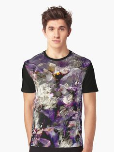 Liquid Purple by angelo cerantola #cooltshirts #purple #nature