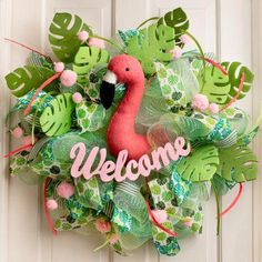 45 Easy DIY Dollar Store Christmas Decorations for Decorating on a Budget - The Trending House Dollar Store Christmas, 3d Christmas, Christmas Wreaths, Christmas Decorations, Christmas Ornaments, Holiday Decor, Holiday Crafts, Flamingo Craft, Flamingo Ornament