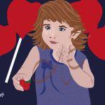 La niña con piruletas, #dibujos #dibujosgraficos #dibujosgraficosinfantiles, #dibujosgraficosniños,  #graficos #infantiles, #niños, #dibujosinfantiles, #dibujosniños,  http://www.dibujosgraficos.me-design.es