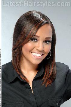 Medium Length Hairstyles for Fall 2014 via @LatestHair.  http://www.latest-hairstyles.com/medium/fall.html