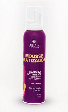 Dihair - Blond Mousse Matizador Instantâneo Loiros Médios, Escuros e Grisalhos 150ml