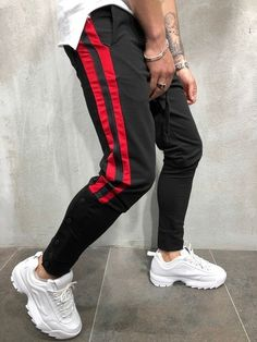 Superdry Men/'s Combat Sport Track Pants Joggers RED Medium NWT SHIPS FAST