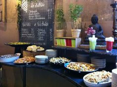 """Aperitivo canapés at Le Stanze - """"Bologna on my mind"""" by @Keith Jenkins"""