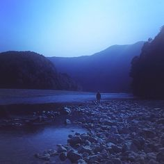 Kumano river, Shingu, Wakayama, Japan 熊野川 / 和歌山県 新宮市 熊野川町