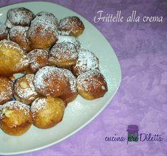 Ho preparato delle deliziose frittelle alla crema che per noi catanesi sono le castagnole alla crema, anche se le castagnole, in gran parte d' italia ......