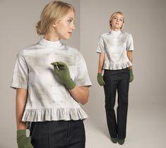 from the Norwegian designer Mette Møller Tunic Tops, Blouse, Long Sleeve, Winter, Sleeves, Design, Women, Fashion, Winter Time