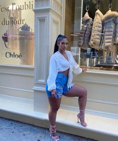 Thick Girls Outfits, Girl Outfits, Sexy Outfits, Black Is Beautiful, Most Beautiful Women, Mode Ootd, How To Lean Out, Curvy Girl Fashion, Women's Fashion