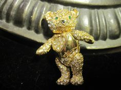 Vintage Joan Rivers Teddy Bear Articulated by zoecatglitzanglamour