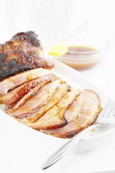 Spiced Roasted Ham with Glaze